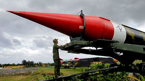 Some of the missiles from the 1962 events are housed in a museum in Cuba. (Photo: AP).