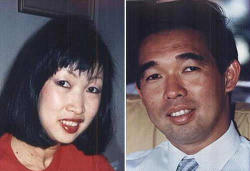 Mr Caleo's wife Rita (left) was found stabbed to death in the couple's Double Bay home in 1990. Her brother Dr Michael Chye (right) was also murdered the previous year. (AAP)