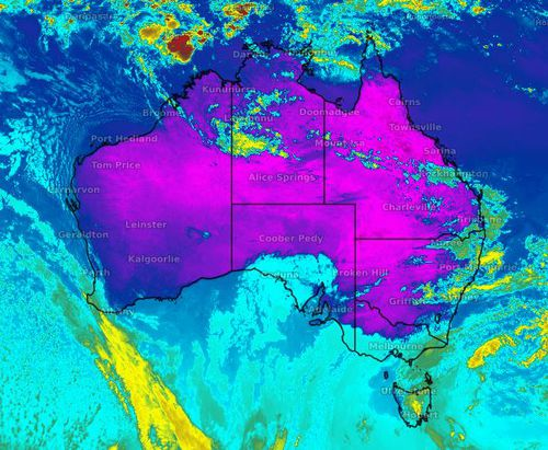 Parts of Australia's east coast is set heat and rain this week.