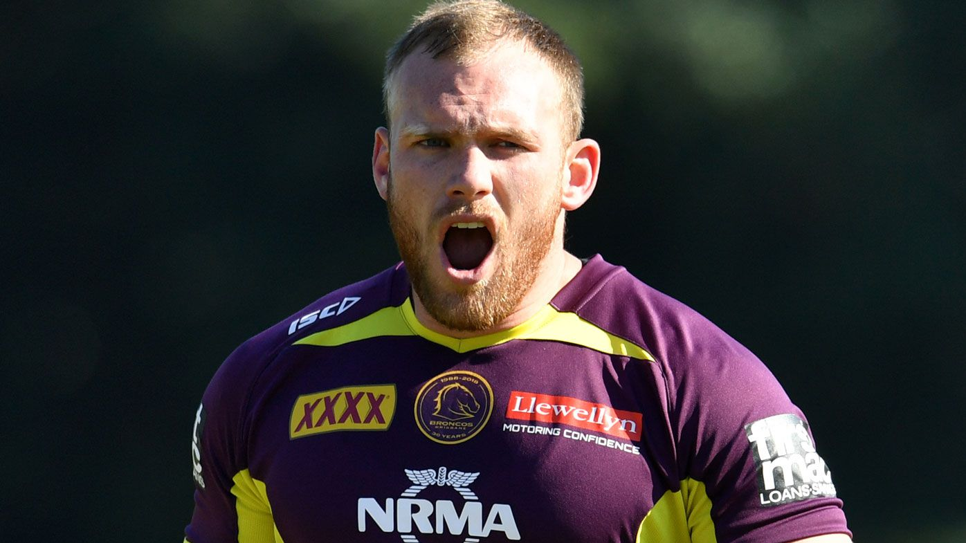 Matthew Lodge signs new deal with Brisbane Broncos