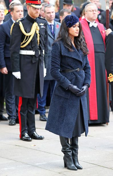 Prince Harry Meghan Markle open Fields of Remembrace at Westminster Abbey 5