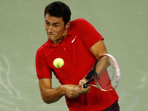 Tomic sinks Gasquet to set up Djokovic clash