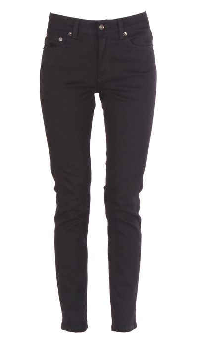 <p>To those who love the flattering fit of a black skinny, but want some room to move, we present this relaxed take.</p>