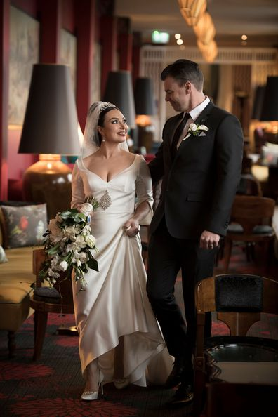 My Wedding Day: Princess Mary royal wedding inspired Sydney bride Natalie Oliveri