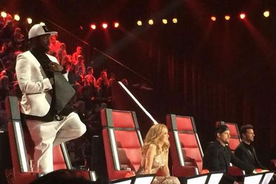 @kyleandjackie: @iamwill loving the performances! #SitDownButDontLOL @TheVoiceAU #TheVoiceAU<br/>