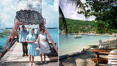 British royal family and the Middletons, Mustique