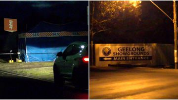 Body found in burnt out tent in Geelong.
