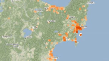 Powerful 5.3 quake hits New Zealand coast.