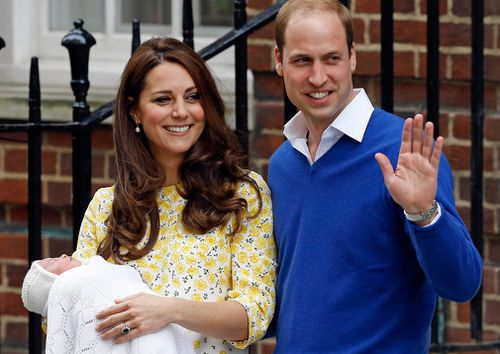 Princess Charlotte was born on May 2, 2015. (PA/AAP)
