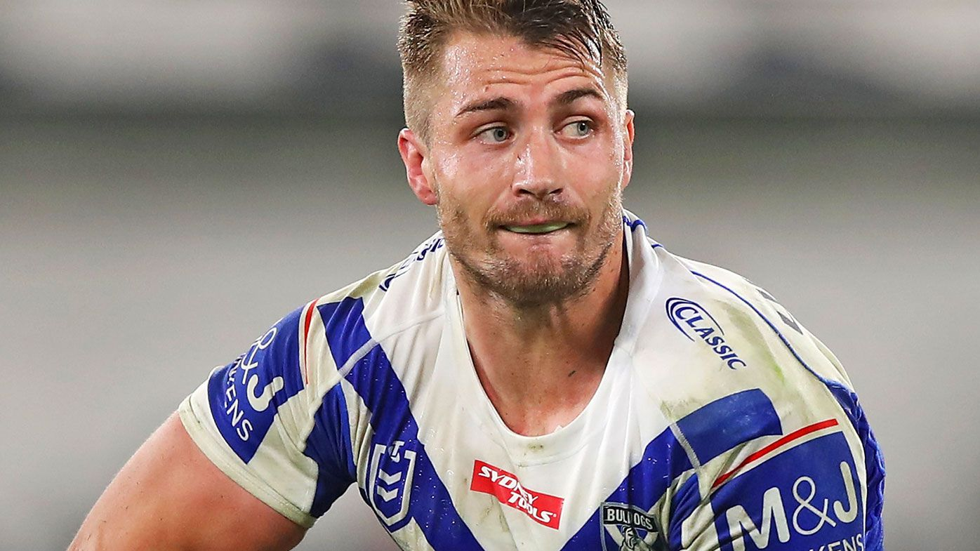 Kieran Foran of the Bulldogs