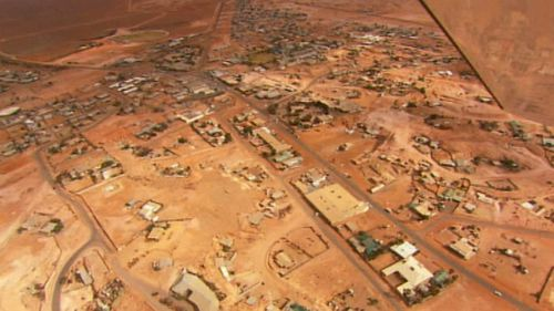 Coober Pedy is well-known for its mines. Picture: 9NEWS