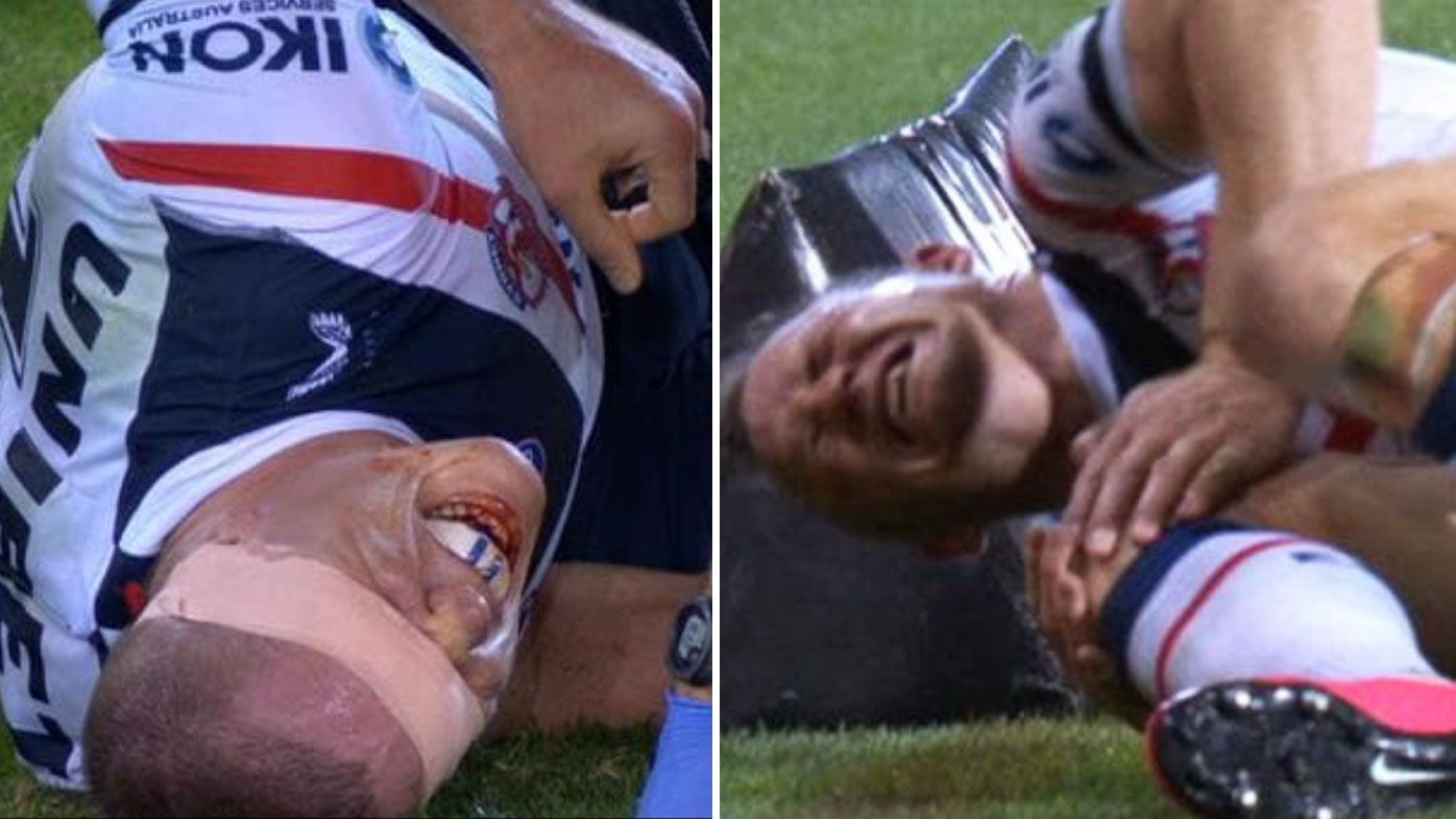 Roosters' injury crisis hits breaking point as Brett Morris and Lindsay Collins downed in Newcastle