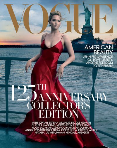 Jennifer Lawrence, US Vogue September 2017