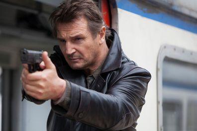 Liam Neeson stars in the 2008 movie Taken.
