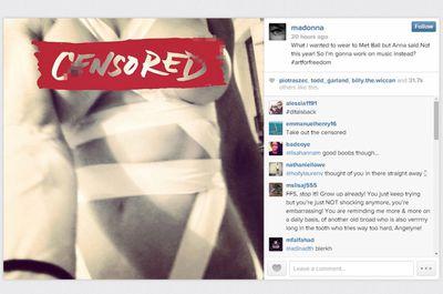 Madonna: Censored