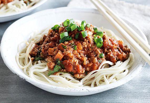 Chang's Asian-style spag bol