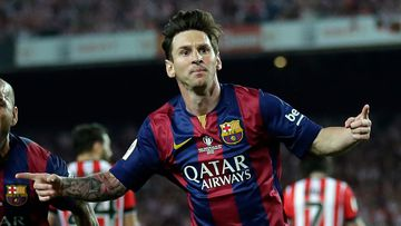 Lionel Messi could spend two years in jail if found guilty of fraud. (AAP)