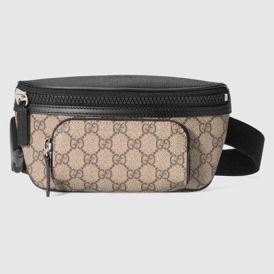 "<a href=""https://www.gucci.com/au/en_au/pr/women/womens-accessories/womens-luggage-lifestyle-bags/gg-supreme-belt-bag-p-450946KHNYX9772?position=33&amp;listName=ProductGridComponent&amp;categoryPath=Men/Mens-Bags"" target=""_blank"">Gucci </a>Supreme bum bag, $615<br>"