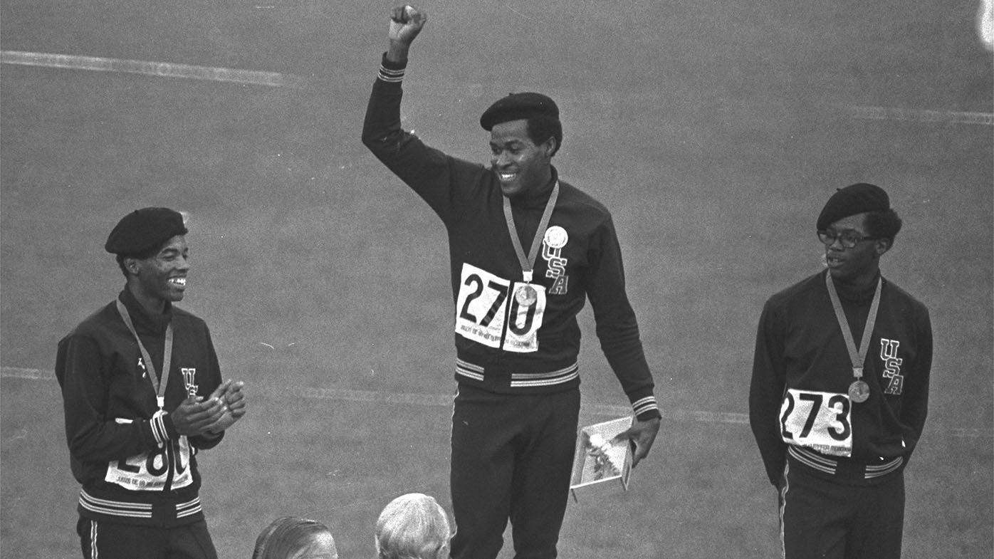 Lee Evans, who protested in a black beret after winning Olympic gold, dies at 74