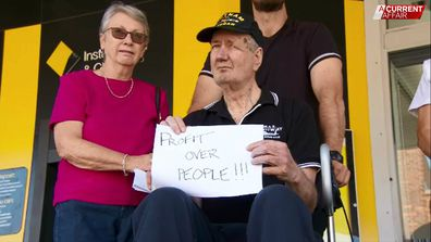 Older Australians say they're being left behind as bank branches close across Australia.