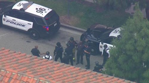 US police confirm double shooting at Los Angeles college campus a murder-suicide