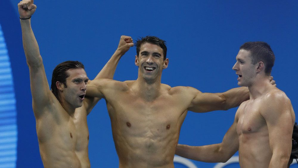 Phelps bows out with 23 golds, Aussies salvage medal