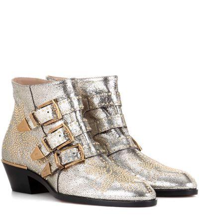 "Chloe Susanna boots, $2260 at <a href=""http://www.mytheresa.com/en-au/susanna-leather-ankle-boots-711891.html?catref=category"" target=""_blank"">Mytheresa.com</a>"