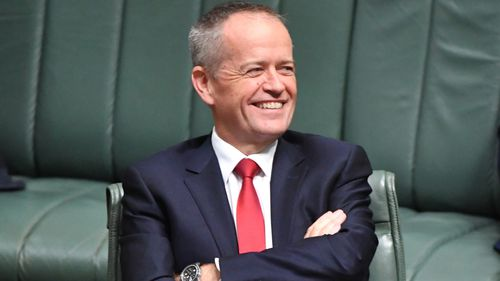Opposition leader Bill Shorten came off looking better as a result of the recent poll figures, despite facing backlash over Labor's decision to exempt pensioners from a proposed plan to end tax refunds on share investments. Picture: AAP.