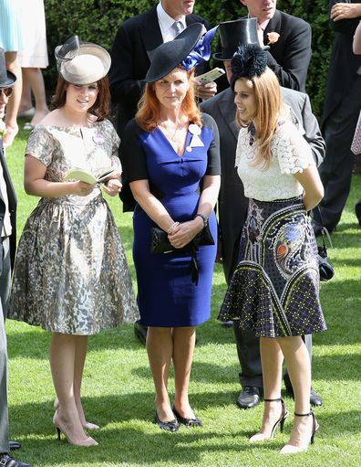 Sarah Ferguson says charity work made her a better mother.