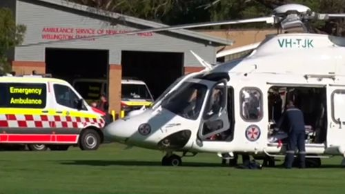 Two children have died after being hit by a car in Wellington, near Dubbo.