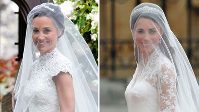 7 times Pippa's wedding looked just like Kate's.