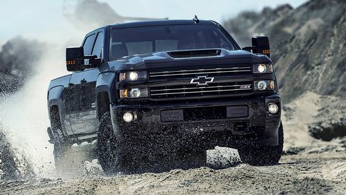 HSV Chevrolet Silverado 2500HD. Picture: Supplied