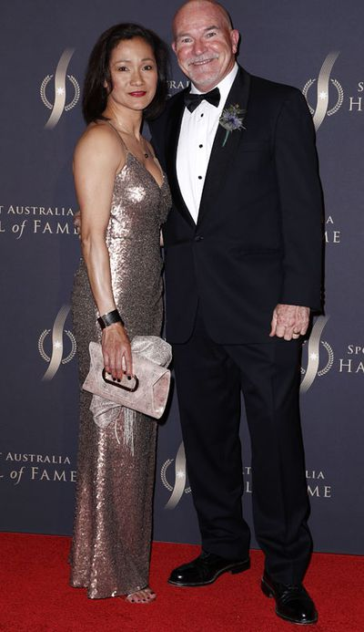 Rob de Castella with wife Therese