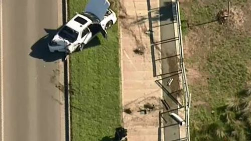 Police are on the scene. (9NEWS)