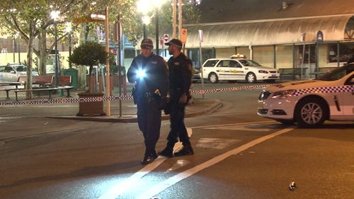 Police have established a crime scene. (9NEWS)