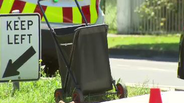 An elderly Melbourne woman has been killed after being hit by a scooter.