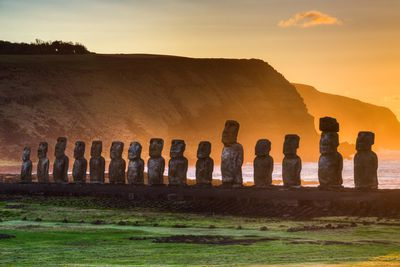 <strong>WHERE:</strong> Easter Island&nbsp;