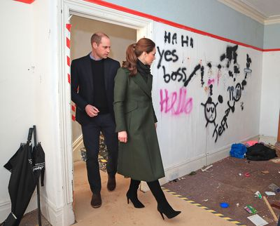 The Duke and Duchess of Cambridge visit Blackpool, March 2019