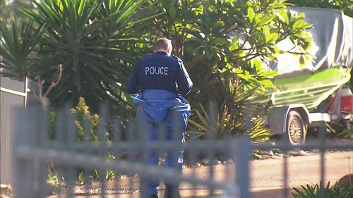 Police are at a house in Sydney's west after a woman's body was found.