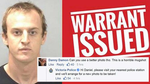 Victorian man to get a better mugshot after being arrested