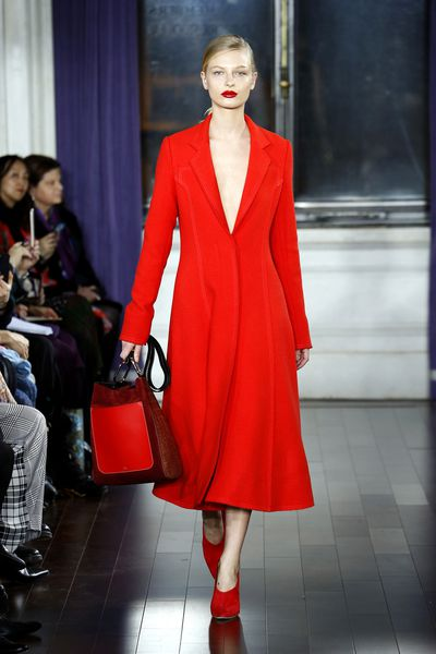 <p>Pantone's number one for 2017 is Grenadine - a bold, beautiful red that works on all skin tones and types.</p> <p>Jason Wu, A/W 17. </p>