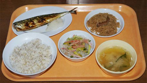 A typical lunch at a Japanese prison. (RocketNews24)
