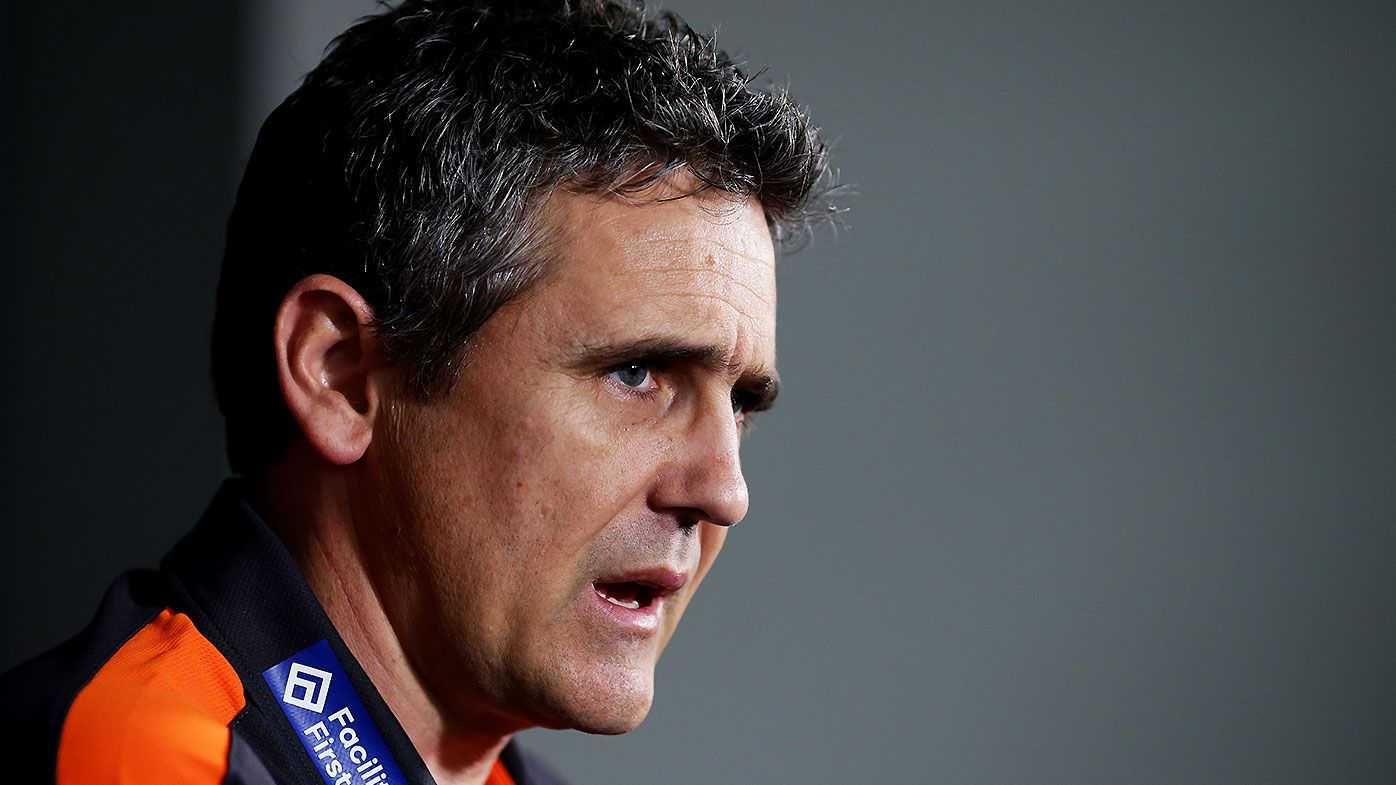 'A lot of tension': GWS Giants coach Leon Cameron and GM Wayne Campbell set to come under scrutiny in review