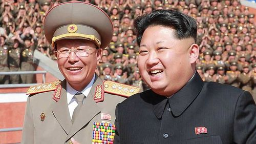 North Korea President Kim Jong-un (right). (KCNA)