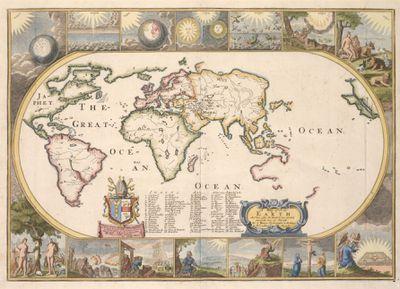 Joseph Moxon map, 1671
