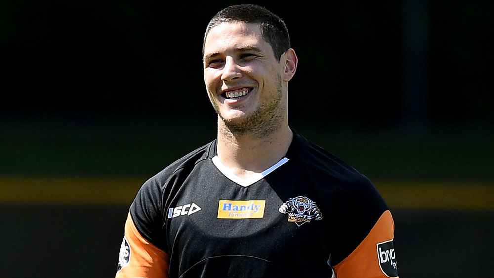 Wests Tigers five-eighth Mitchell Moses.