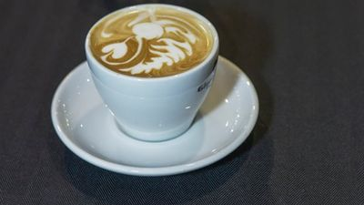 <p>Standard flat whites, cappuccinos and lattes were among the healthiest options - a small Gloria Jeans cappuccino containing two teaspoons of sugar and 4g of saturated fat, or 10 percent of daily sugar and 6 percent of daily fat allowances.</p><p>(Facebook)</p>
