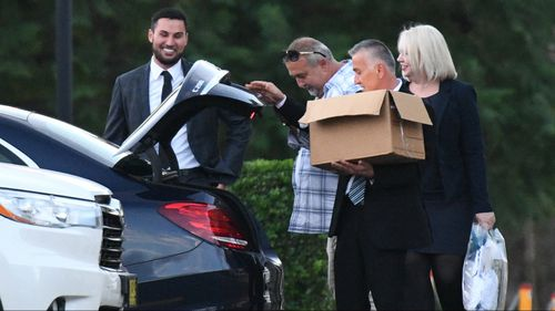 Former Auburn Deputy Mayor Salim Mehajer leaves the Silverwater Correctional Complex after being released on bail. (AAP)