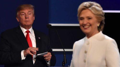 Donald Trump and Hillary Clinton. (AFP)