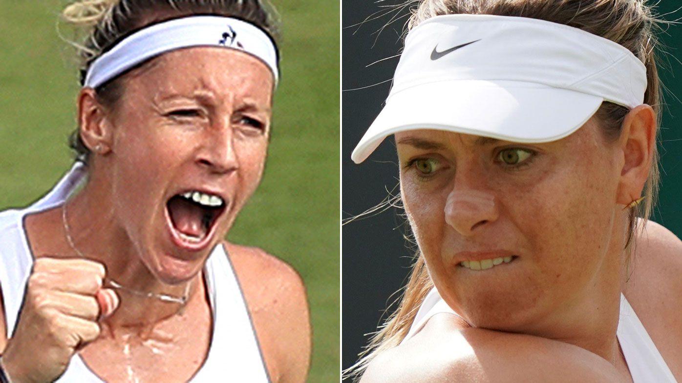 Maria Sharapova fumes at opponent Pauline Parmentier's Wimbledon post-match dance